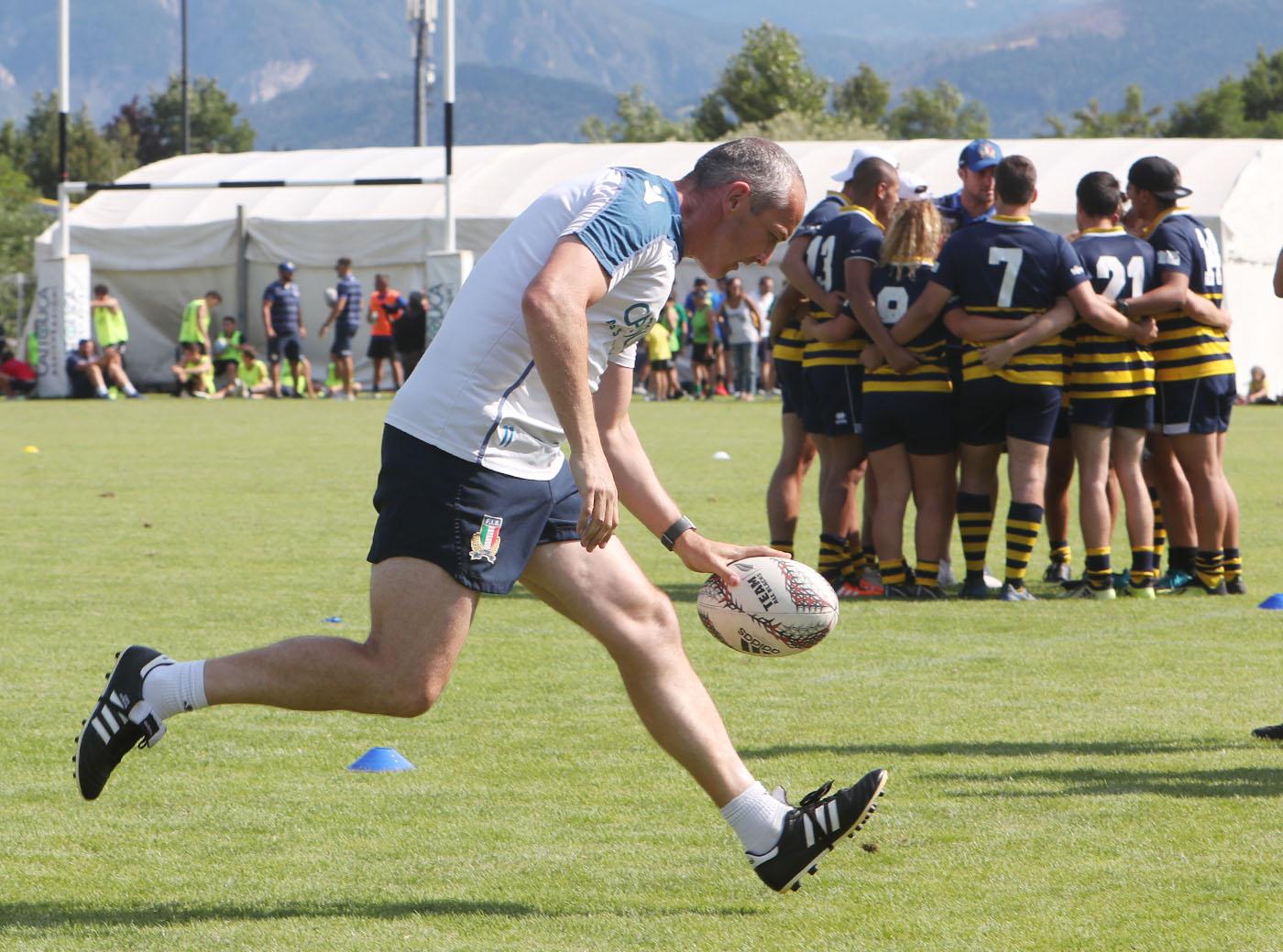 Tocco D'Azzurro Pergine Valsugana Ospita gli Azzurri del Rugby